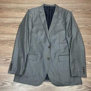 J. Crew Ludlow Solid Grey Blazer 42L